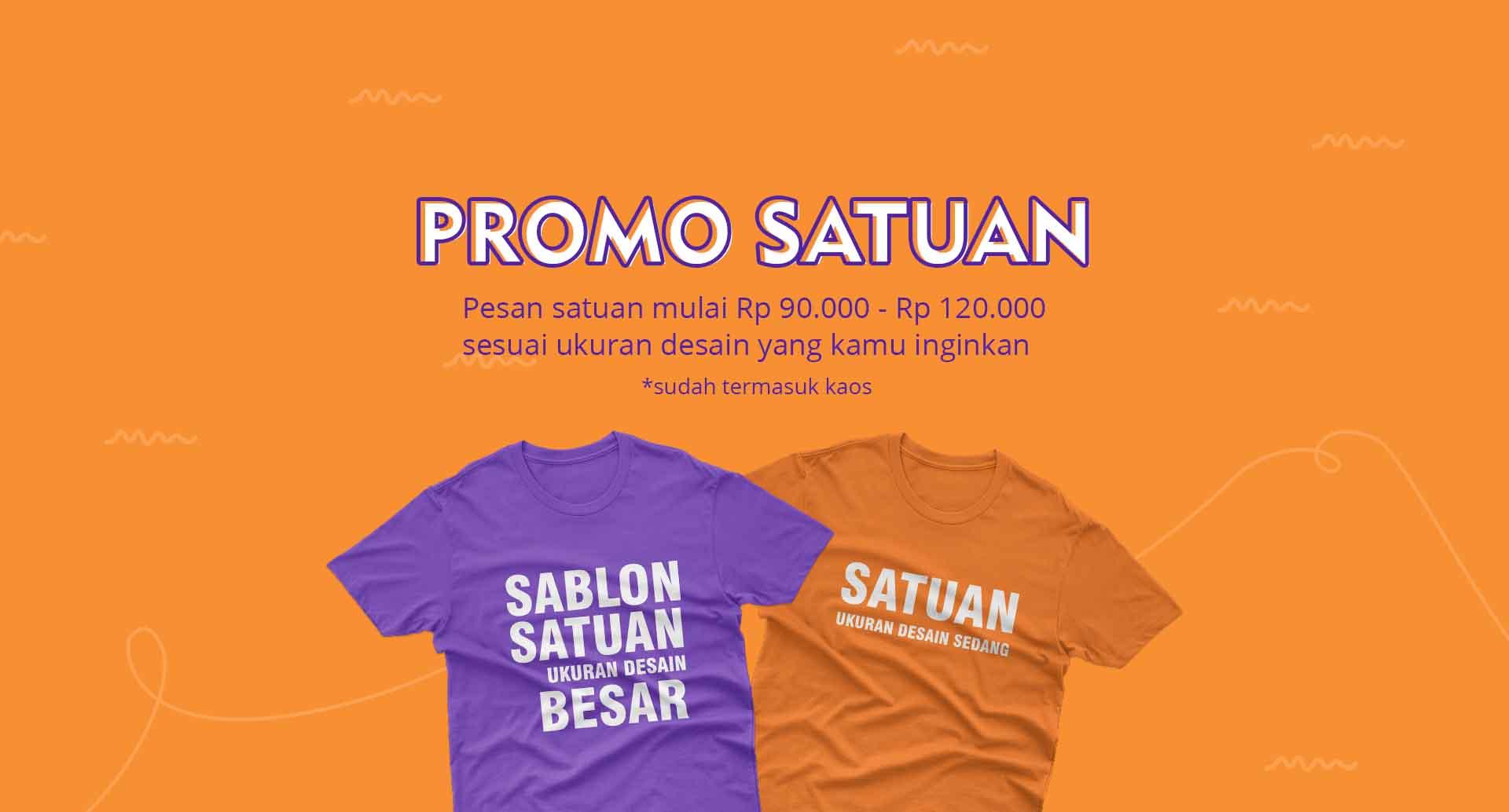Sablon Baju Makassar